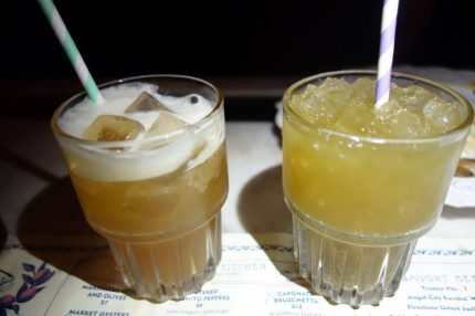 House Made Draft Sodas - Cream Soda and Minty Fresh