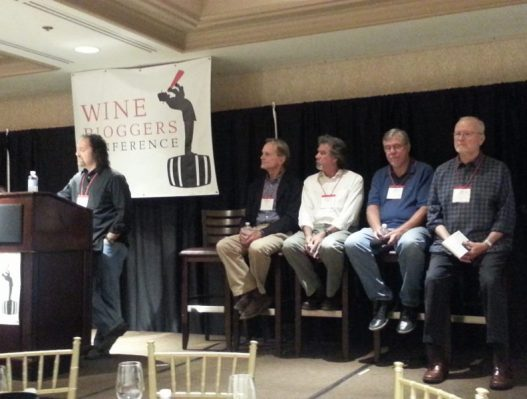 Larry Schaffer leads a panel with Bob Lindquist, Richard Sanford, Rick Longoria, Ken Brown