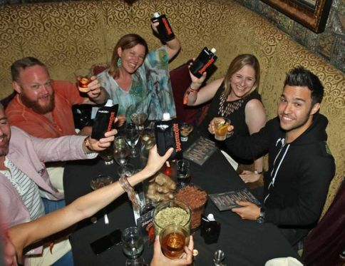 Jagermeister Dinner Photo with Pete Wentz by Peter G. Forest