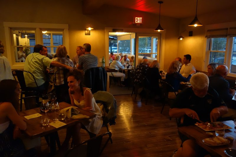... And Open Kitchen Are. It Is A Loud And Energetic Room. This Room Then  Feeds Into Two Other Rooms U2013 The Patio And A Quieter Dining Room, Where We  Dined.