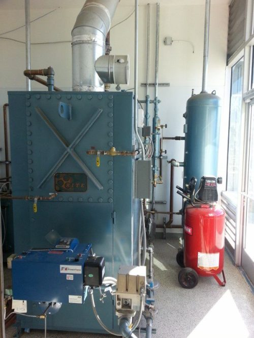 Low Pressure Steam Boiler