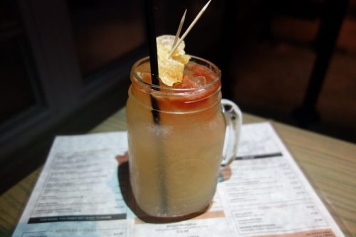 Moscow Mule (Vodka, Ginger Citrus Syrup, Ginger Beer, Angostura Bitters)