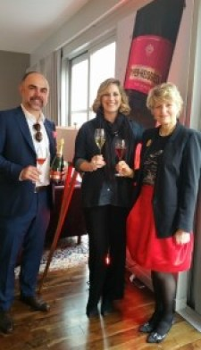 Herve Robert Rousseau and Cecile Bonnefond of Piper Heidsieck