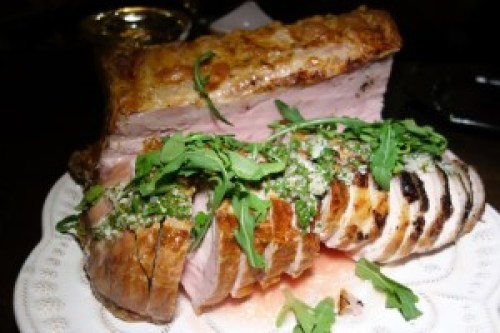 Whole Roasted Bone-In Pork Loin