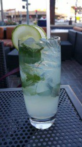 Cool as a Cucumber (lemonade, cucumber soda and mint)