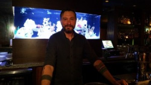 Bartender Chadwick Johnson