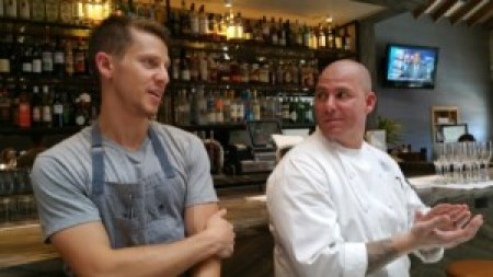Chef Zach Pollack and Chef Michael Fiorelli