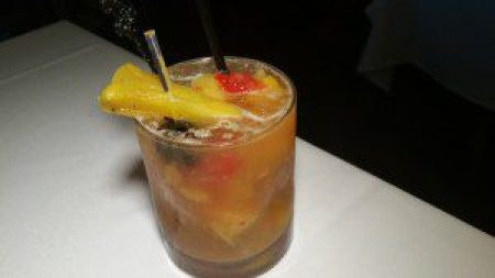 Caramelized Pineapple Old Fashioned