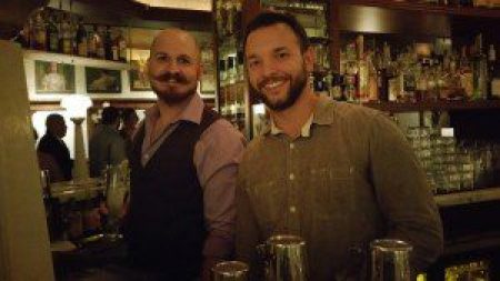 Bar Manager Wes Gerald and General Manager Billy Bob Thompson