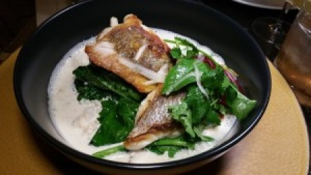 Tai Snapper, Shiitake, Yellow Thai Curry, Coconut Broth