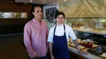 Eliot Silver and Chef Alex Resnick