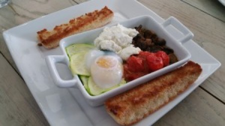 Oven Baked Egg Pot