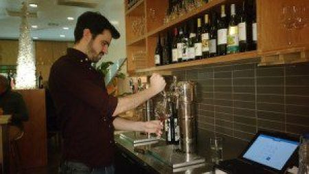 Wine Bar Manager Scott at the Wine Tap