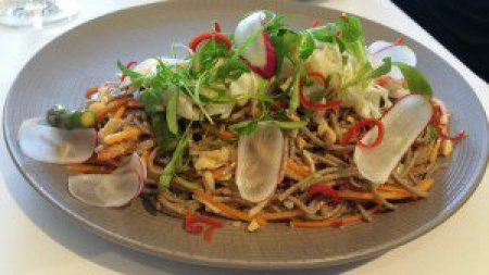Chilled Crab Soba
