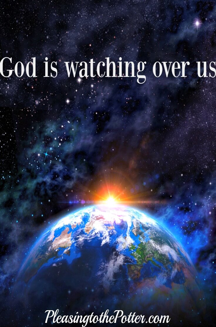 God is watching over those whose heart is completely His. 2 Chronicles 16:9