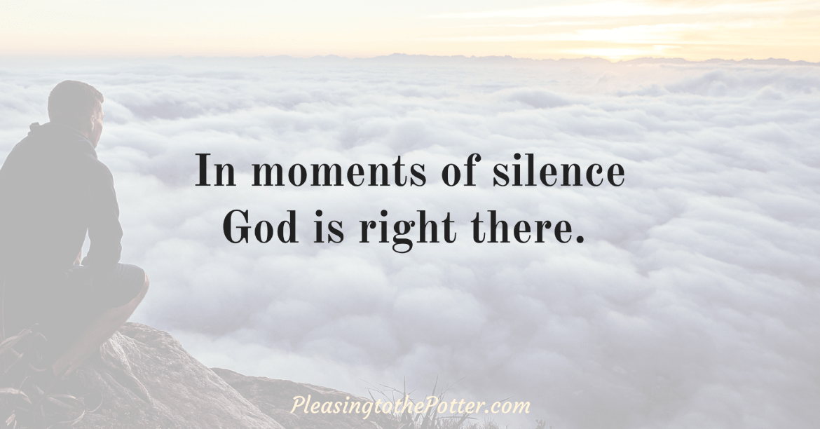 Have you ever wanted to pray but just didn't know what to say? Until words come, pray these two ways to stay close to God. You might be amazed at how God blesses you when you simply show up willing to listen to His voice.