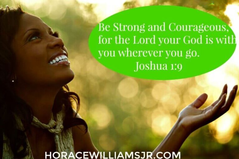 My Word from God for the New Year is COURAGE