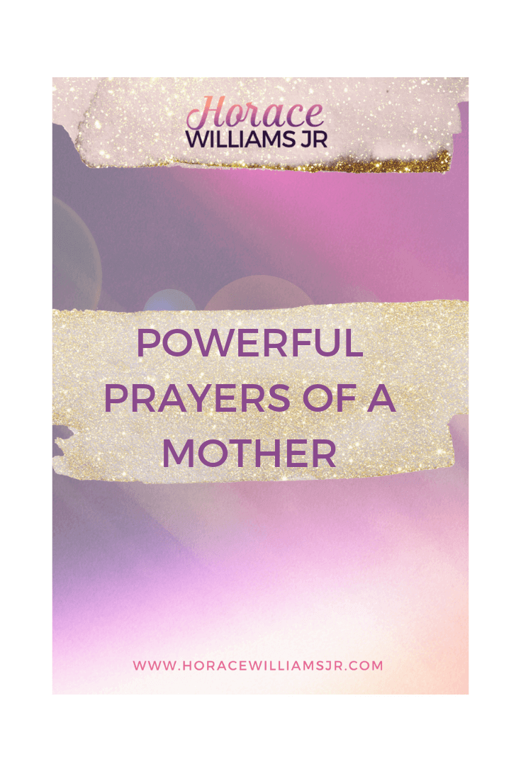 POWERFUL PRAYERS OF A MOTHER: A BEAUTIFUL AROMA TO GOD