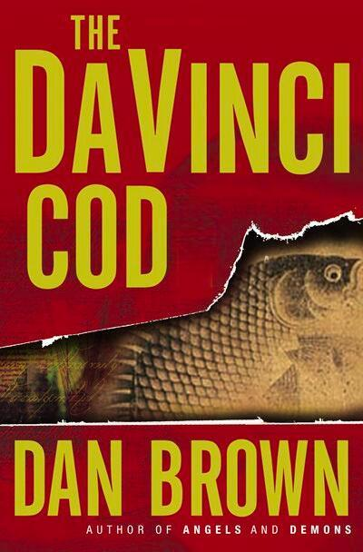 The Da Vinci Cod book cover