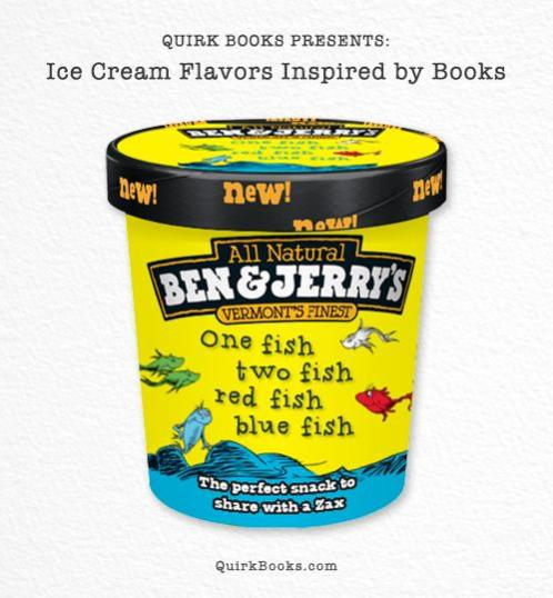 Book Insired Icecream