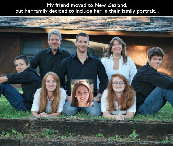 20 Of The Funniest Family Portraits Ever Taken Pleated Jeans