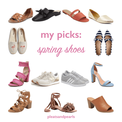 my picks: spring shoes
