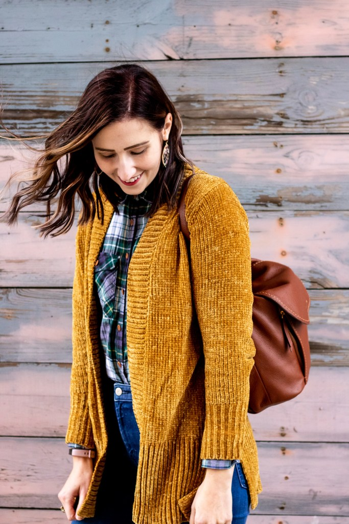 current crush: chenille sweaters