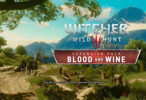 Witcher 3 - Blood and Wine