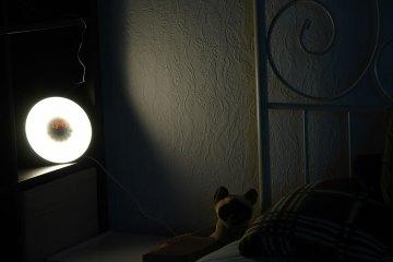 Sonnenaufgangssimulation des Lichtweckers