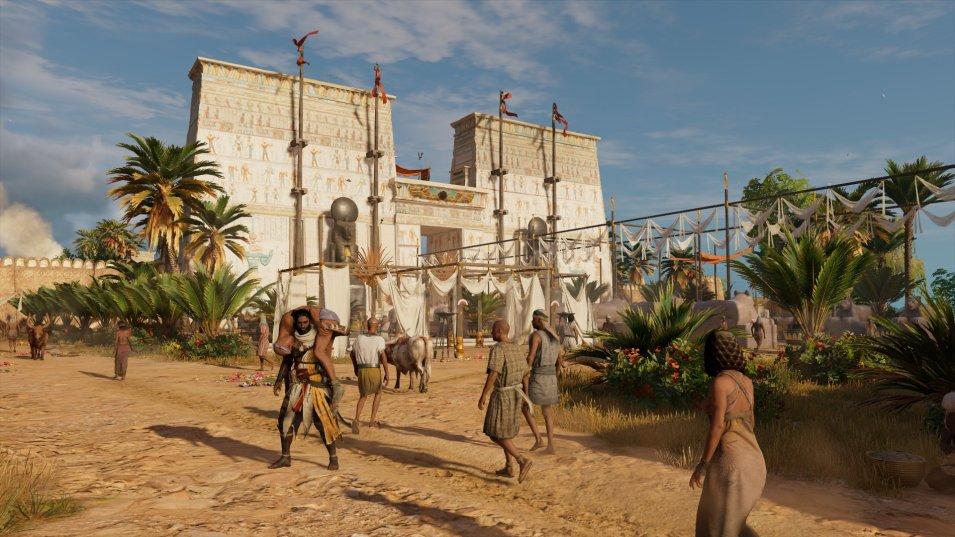 Assassins Creed Origins   Ägyptischer Tempel