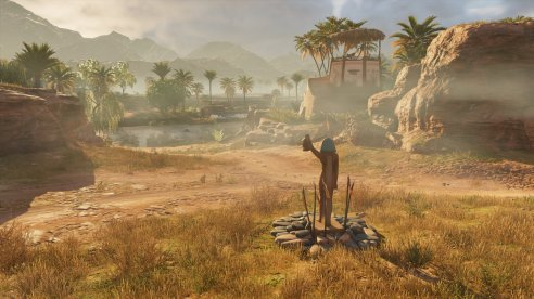 Assassins Creed Origins | Ptolemaios-Statue
