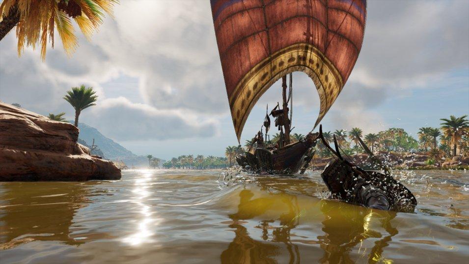 Assassins Creed Origins   Schwimmen