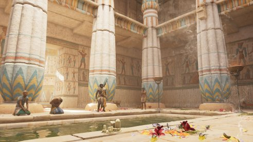 Assassins Creed Origins | Tempel-Inneres