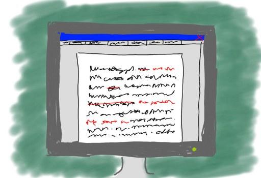 Word-Nachverfolgungsmodus