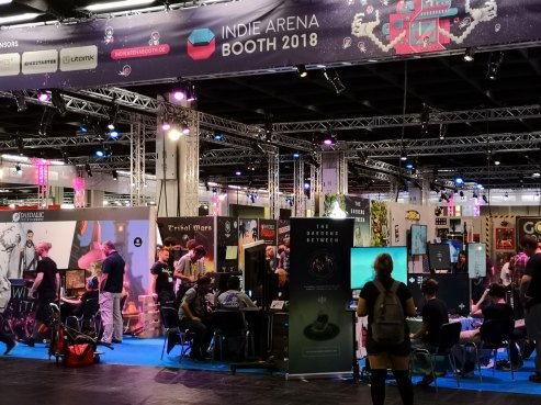 Gamescom 2018 - Indie Arena Booth