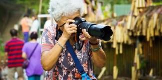 Fotógrafa com experiência
