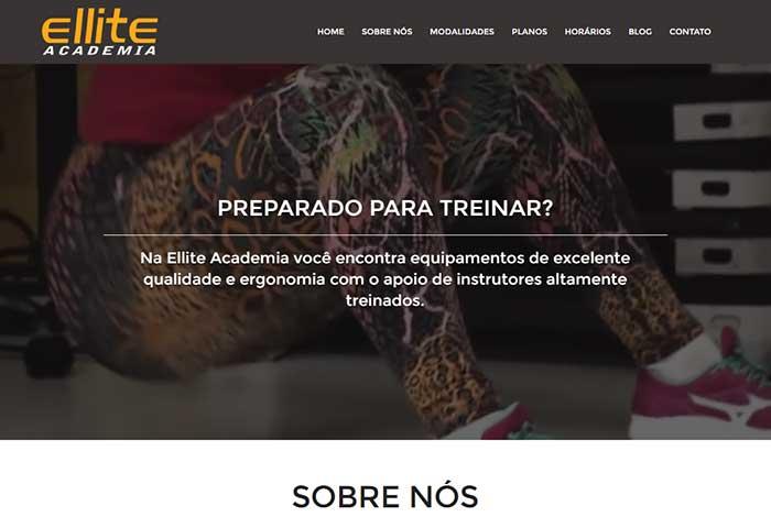 Academia Ellite - Site