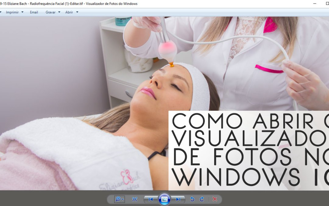 COMO ABRIR O VISUALIZADOR DE FOTOS NO WINDOWS 10