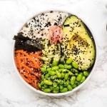 Vegan gluten free sushi bowl