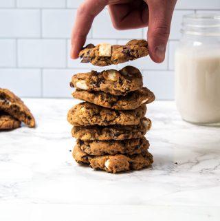 vegan smores cookies gluten free