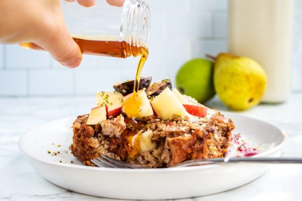 Apple Cinnamon Baked Oatmeal