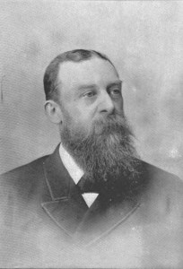 Jacob E. Klotz was born in Canada to German immigrant parents. He served as the Canadian Immigration Commissioner to Germany from 1872 to 1880 during the period when Mennonites emigrated from the Russian Empire to settle in Canada and the United States. Photo Credit: The Canadian Album, 1893.