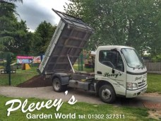 Soil delivered from Pleveys in Doncaster