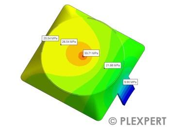 压力分布 (Pressure Distribution) 用于塑料工业