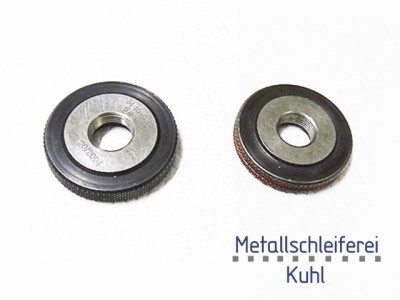 Thread Ring Gauge in Plastic Industry by Metallschleiferei Kuhl GmbH