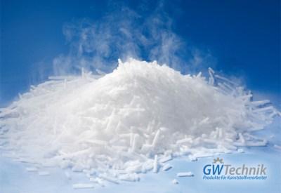 Trockeneis - Kunststoffbranche. Informationen von GWT