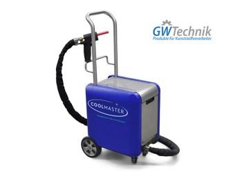 Trockeneisreinigung - Kunststoffbranche - GWT