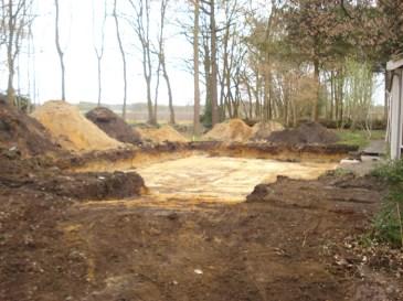 cunetten graven loonbedrijf van den berg