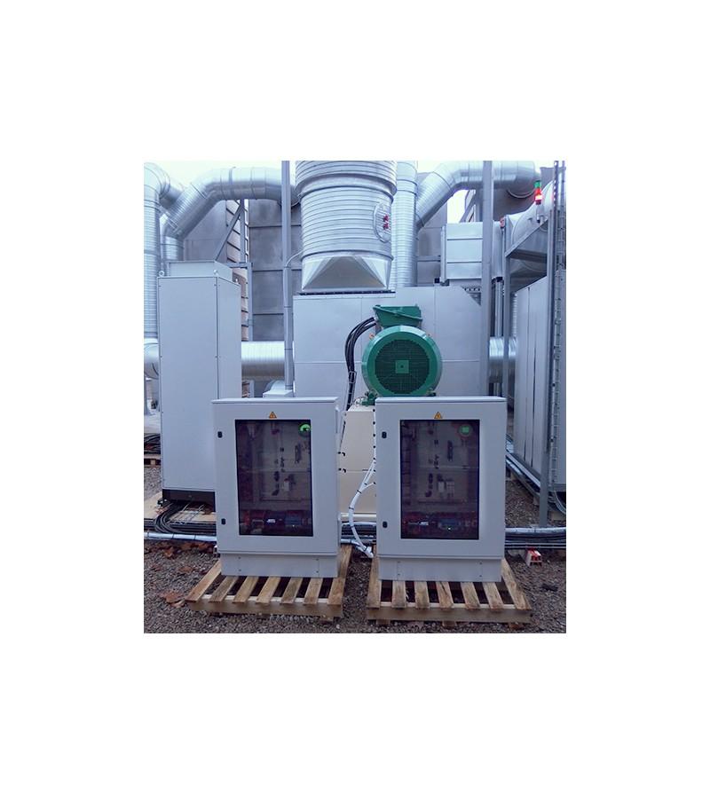 Filtration Sur Sable Et Coffrets De Mesures De Gaz PLM