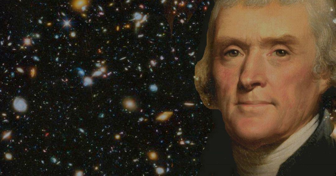 Thomas Jefferson and the Shapeshifting UFO